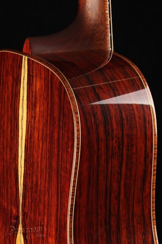 "Bourgeois D150 Classic Redwood Custom ""Red Devil"""