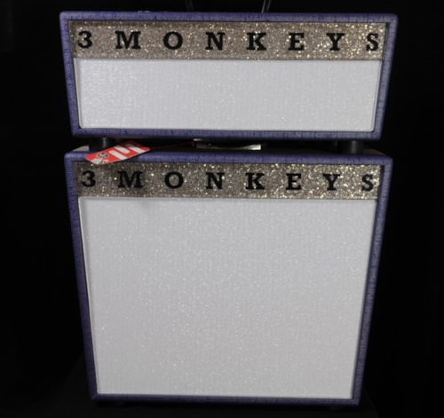 "~2016 Three Monkeys Sock Monkey Head & 1-12"" Cab"