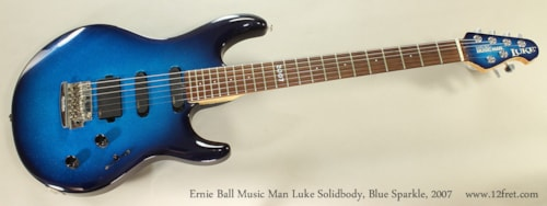 2007 ERNIE BALL MUSIC MAN Luke