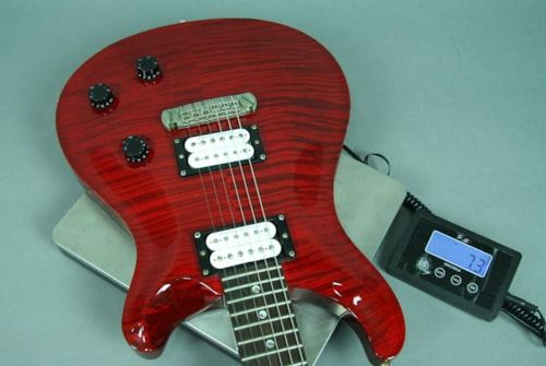 2003 Paul Reed Smith PRS Custom 22 Guitar Electric 10 Top Trans Red Flame w/OHSC