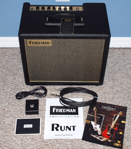 2016 Friedman Runt 20 watt Combo – IN STOCK!