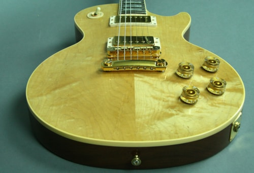 1997 Gibson Smartwood Les Paul Standard Natural Finish Electric Guitar w