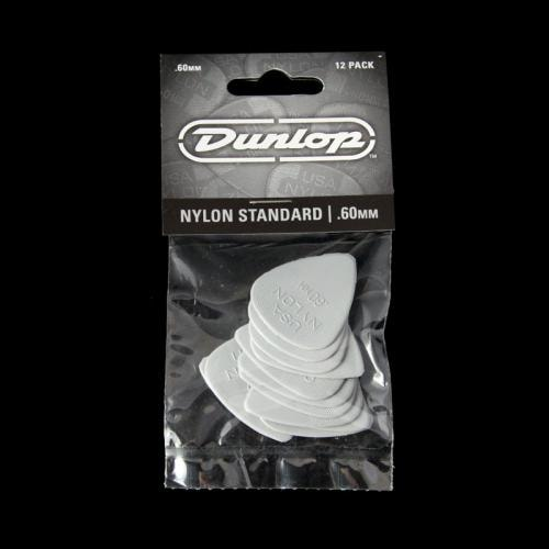 Dunlop Nylon Standard Picks (.60mm)