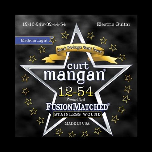 Curt Mangan Fusion Matched Stainless Wound Electric Strings (12-54)