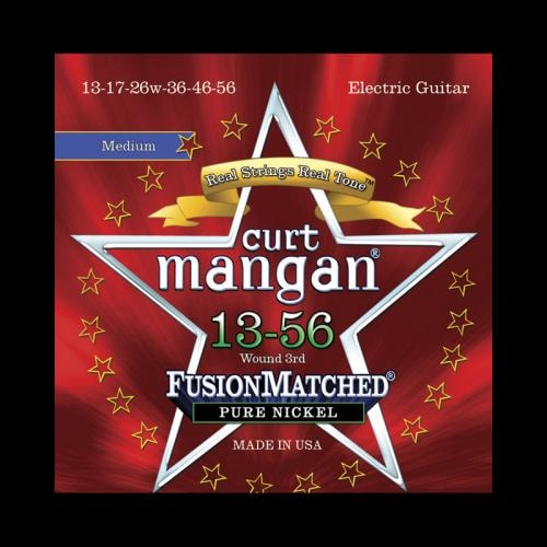 Curt Mangan Fusion Matched Pure Nickel Electric Strings (13-56)