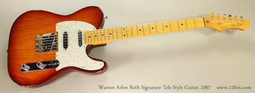 2007 Warren Arlen Roth Signature
