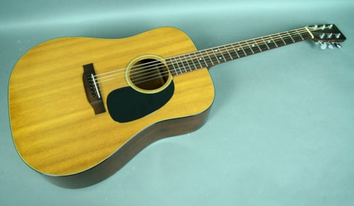1970 Martin D-18 Vintage Acoustic Guitar Dreadnought Natural Finish USA