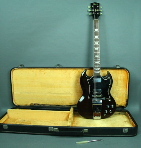 1967 Gibson SG Standard Vintage Electric Guitar Cherry Red USA w/HSC