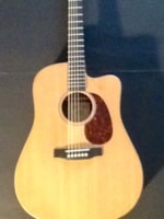 2010 Martin Custom X Series Acoustic Electric