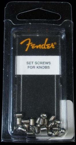 Fender® Control Knob Screws (Pack of 24)