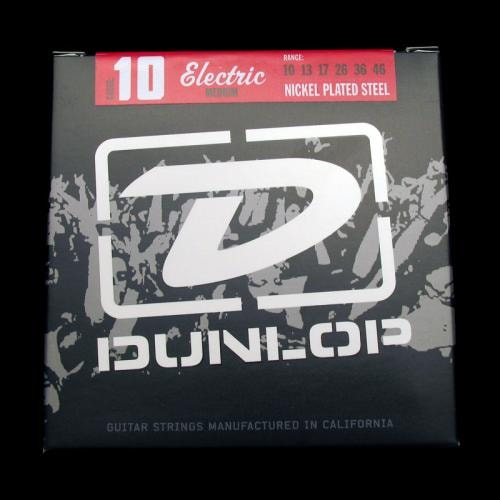 Dunlop Nickel Plated Steel Electric Strings (Medium 10-46)