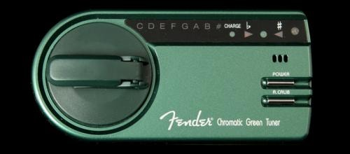 "Fender® GT-1000 Battery-Free ""Green"" Chromatic Tuner"