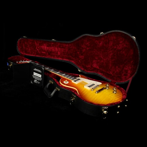 Gibson Custom Shop Used 2011 Gibson Custom Shop '60 Les Paul Gloss Electric Guitar Washed Cherry