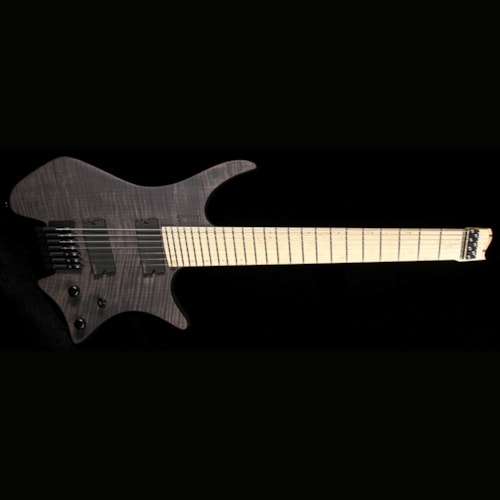 Strandberg Used 2015 Strandberg Custom Shop Boden 7 Electric Guitar Perpetual Black
