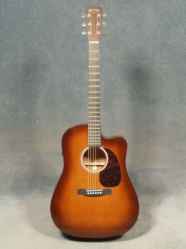 2016 Martin DCPA4 SHADED TOP PERFORMING ARTIST GUITAR & CASE, with FISHMAN F1 ANALOG PICKUP SYSTEM