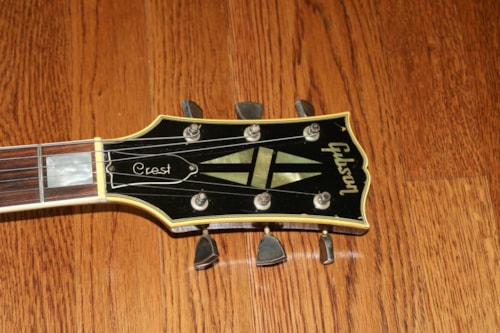 1969 Gibson Crest Silver