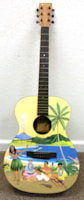 2002 Martin Hawaiian X Limited Edition Collectors Guitar SN #