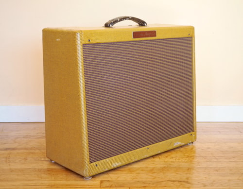 Victoria Double Deluxe Boutique Tube Amp 2x12 Tweed 6V6, 5E3 Circuit