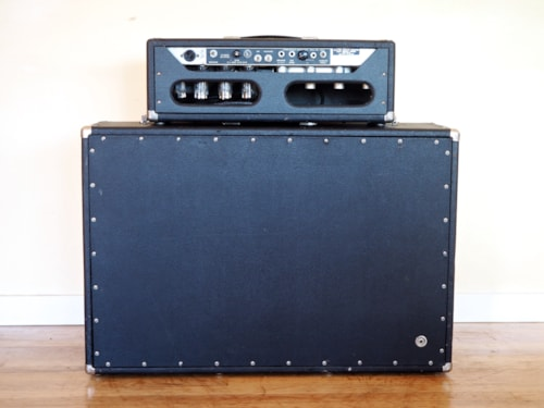 1968 Fender® Showman® Vintage Piggyback Tube Amp AB763 Circuit Tone Ring