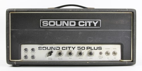 ~1975 Sound City 50 Plus Head