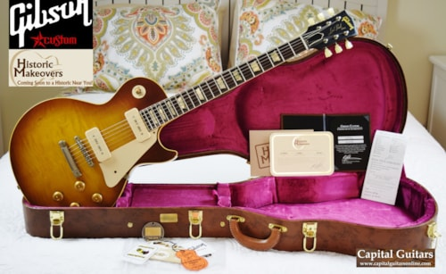 2016 Gibson / Historic Makeovers '56 Les Paul Reissue Brazilian