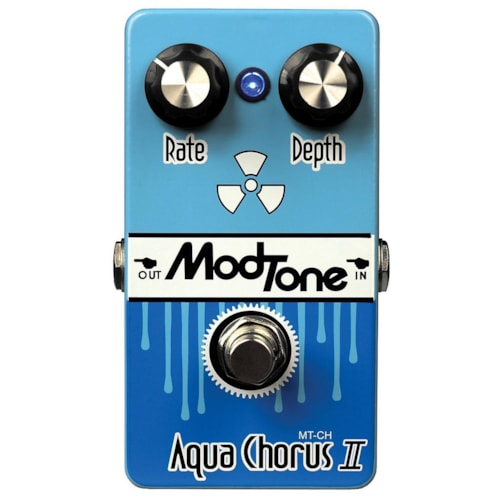 2015 Modtone Aqua Chorus 2 light blue