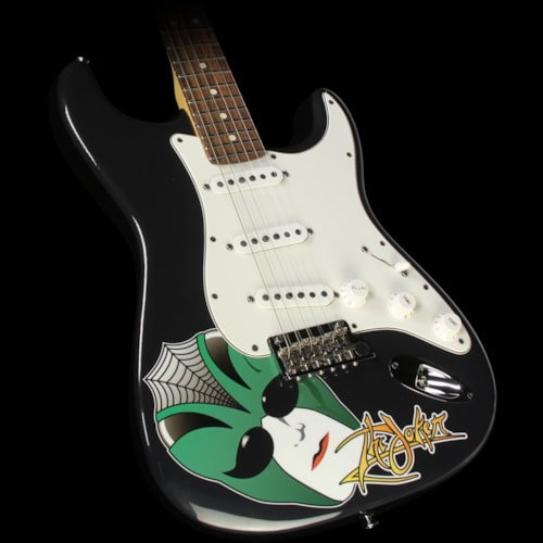 Fender® Used Steve Miller Collection Fender® The Joker Standard Stratocaster® Electric Guitar Black