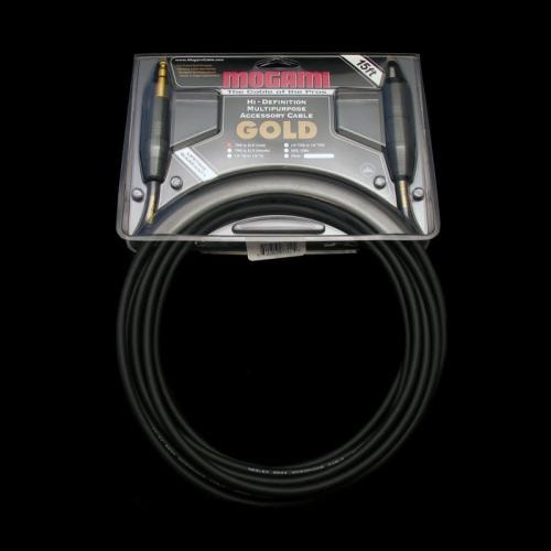 Mogami Gold TRS 1/4 Inch to XLR Cable (15 Foot)