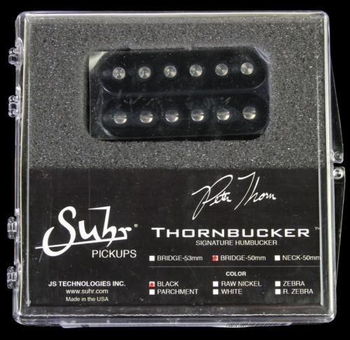 Suhr Thornbucker Bridge Humbucker Electric Guitar Pickup Black 50mm