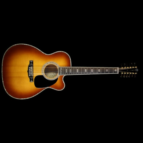 Martin Used 2006 Martin Richie Sambora MC12-41 12-String Acoustic Guitar Sunburst