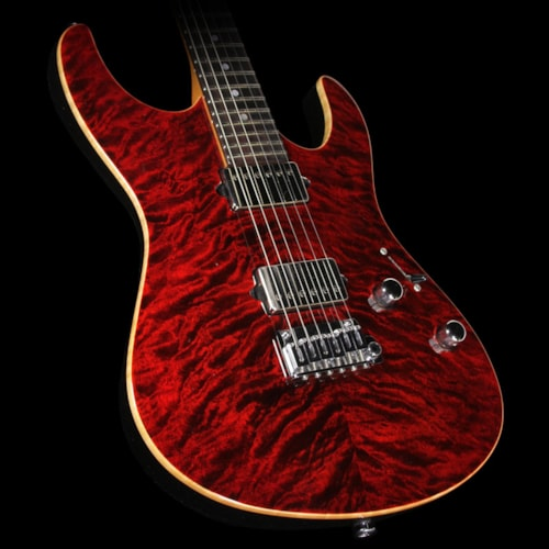 Suhr Used 2013 Suhr Modern Carve Top Electric Guitar Chili Pepper