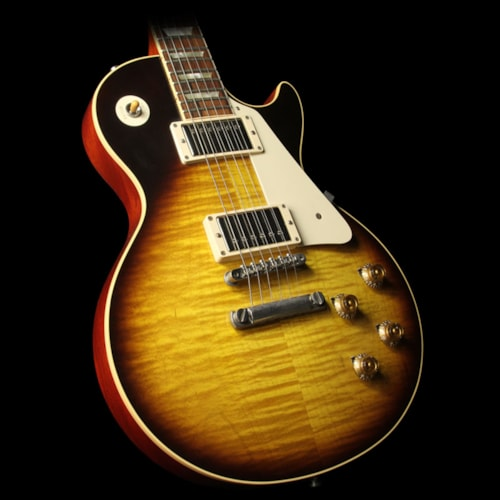 Gibson Used 2009 Gibson Custom Shop 1959 Les Paul Reissue 50th Anniversary Electric Guitar Darkburst