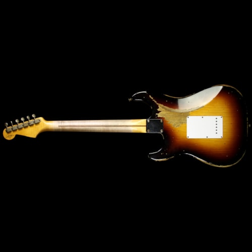 Fender® Custom Shop Used 2014 Fender® Custom Shop 60th Anniversary 1954 Stratocaster® Relic® Electric Guitar 2-Tone Sunburst