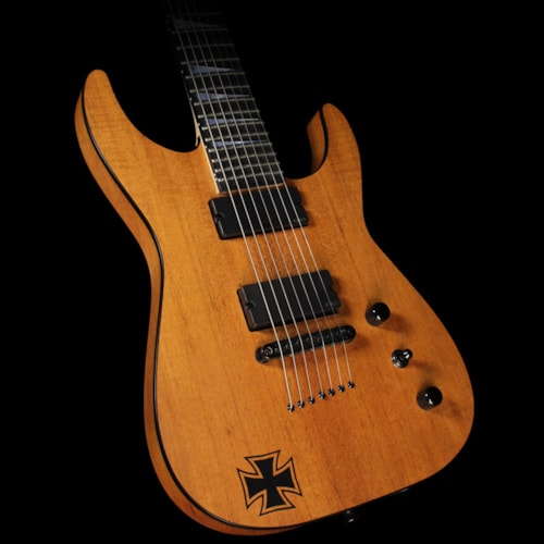 Jackson Used 2014 Jackson Custom Shop SL2-7 Mahogany Soloist 7-String Electric Guitar Natural Oil