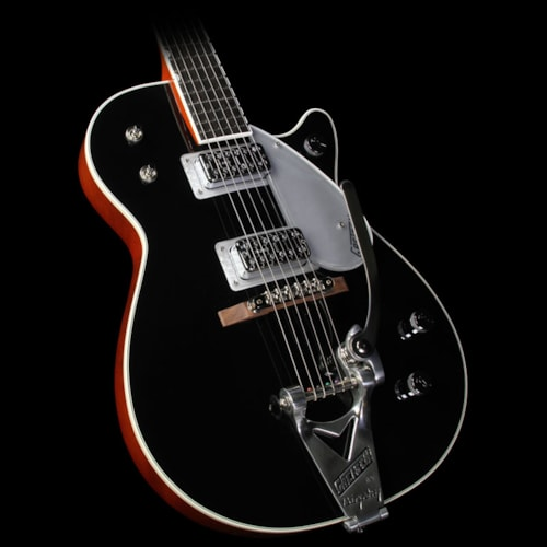 Gretsch G6128T-TVP Power Jet with Bigsby Electric Guitar Black