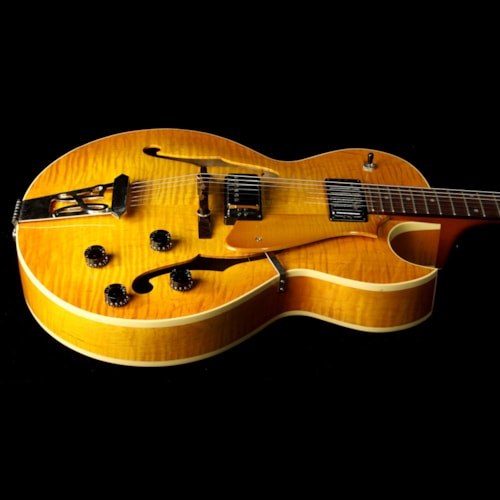 Heritage Used 1998 Heritage H575 Semi-Hollowbody Electric Guitar Vintage Sunburst