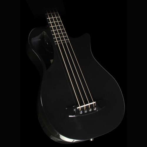 Journey Instruments OB660 Carbon Fiber Acoustic-Electric Bass Black