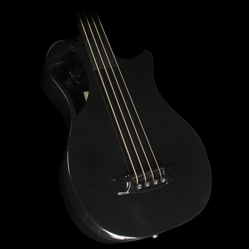 Journey Instruments OB660F Carbon Fiber Acoustic-Electric Fretless Bass Black