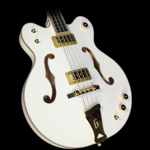Gretsch Used Gretsch G6136LSB White Falcon Electric Bass
