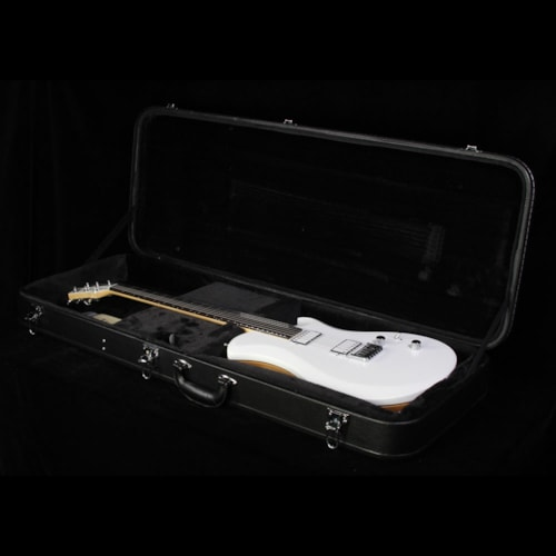 Relish Snow Mary Wood Frame Electric Guitar White