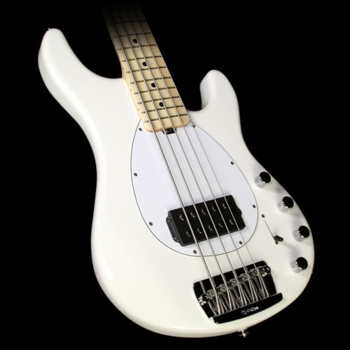 ERNIE BALL MUSIC MAN Sterling H 5-String Electric Bass White