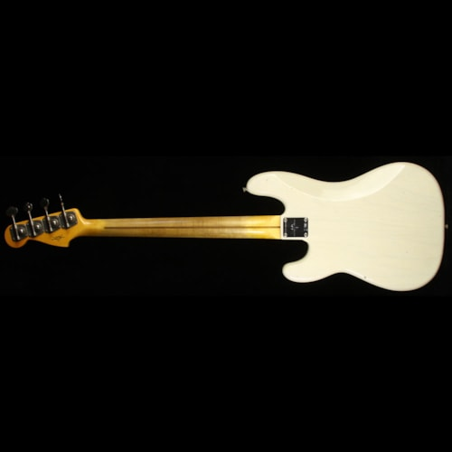 Fender® Custom Shop 1957 Precision Bass® Journeyman Relic® Electric Bass Aged White Blonde