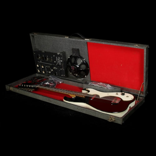 Silvertone Used 1960s Silvertone 1457 Guitar & Amp-In-Case Set