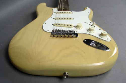 1974 Fender Stratocaster Vintage Electric Guitar Blonde Finish USA w/OHS