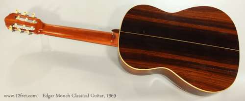 1969 Edgar Monch Classical Spruce