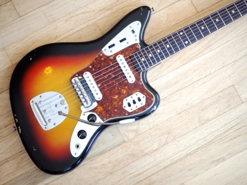 1962 Fender® Jaguar® Vintage Electric Guitar 100% Original Pre-CBS w/ ohsc