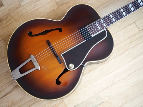 1947 Gibson L-7 Archtop Vintage Guitar w/ Kent Armstrong PAF & ohsc L-5