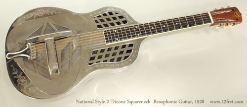 1928 National Style 2 Tricone Squareneck