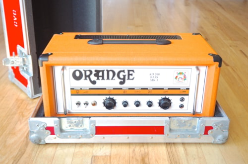 Orange AD200B MKIII Bass Amplifier Head All Tube 200 Watt 6550