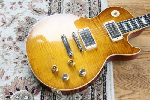 2015 Gibson True Historic PETER GREEN '59 Les Paul Tom Murphy Burst Painted & Aged HS9
